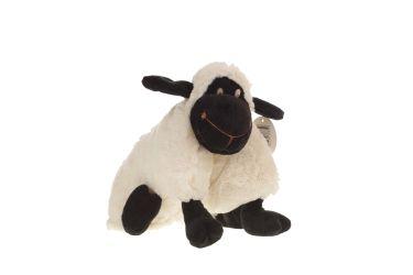 Poduszka składana owieczka czarna owca maskotka 32 cm