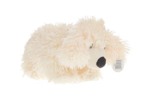 Poduszka składana pies pasterski jasny kudłaty średni