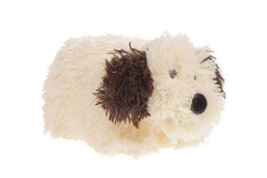 Poduszka składana pies pasterski burek kudłaty średni