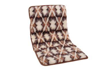 Narzuta wełniana merynos na krzesło fotel 50x120 cm