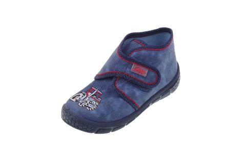 Pantofle na rzepy buciki chłopięce Befado 529P027
