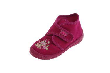Pantofle na rzepy buciki dla dziewczynki Befado 529P026