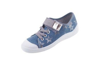 Trampki dla dziewczynki pantofle Befado 251Y094 TIM (r. 31-36)