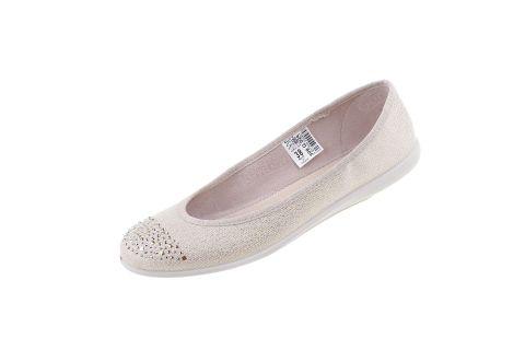 Baleriny młodzieżowe pantofle Befado skóra 309Q024