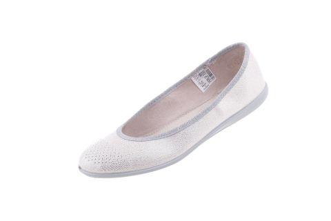 Baleriny młodzieżowe pantofle Befado skóra 309Q022
