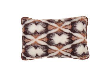 Poduszka z wełny merynos średnia 40x60 chmurki