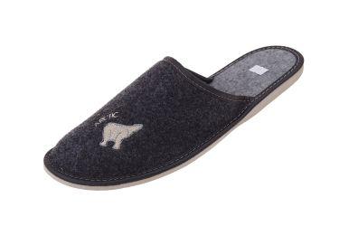 Pantofle filcowe męskie r. 47-49 nadwymiarowe