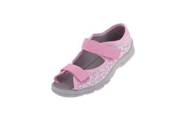 Sandały dla dziewczynki pantofle Befado 969X092 (r. 25-30)