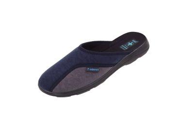 Pantofle męskie klapki z krytymi palcami 16079 BIO Adanex