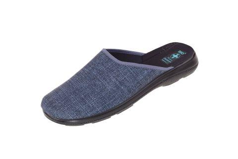 Pantofle męskie klapki z krytymi palcami 22935 BIO Adanex
