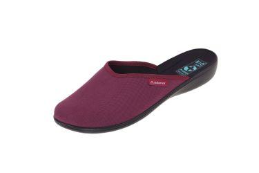 Pantofle klapki kryte 23904 BIO Adanex burgund