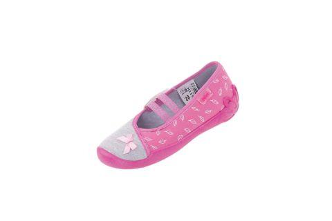 Pantofle Befado baleriny 116X234 BLANCA (r. 25-30)