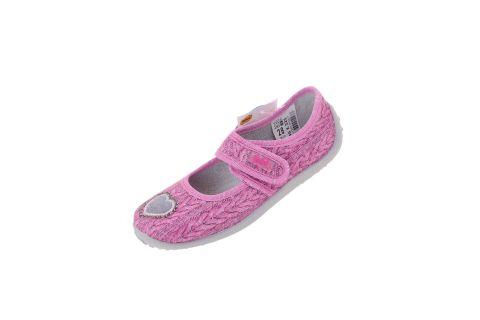 Pantofle dla dziewczynki baleriny Befado 945X325 NELLY (r. 25-30)