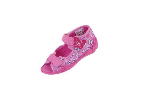 Sandały dla dziewczynki pantofle Befado 242P091 PAPI (r. 18-25)