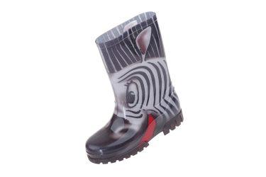 Kalosze dziecięce gumowce Demar TWISTER PRINT S (20-27) zebra