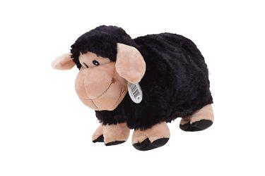 Poduszka składana czarna owca owieczka baranek średnia