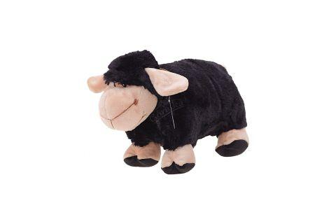 Poduszka składana czarna owca owieczka baranek mała