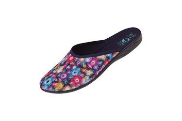 Pantofle BIO Adanex 24642 klapki kryte kolorowe