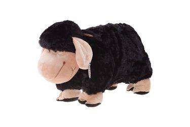 Poduszka składana czarna owca owieczka duża