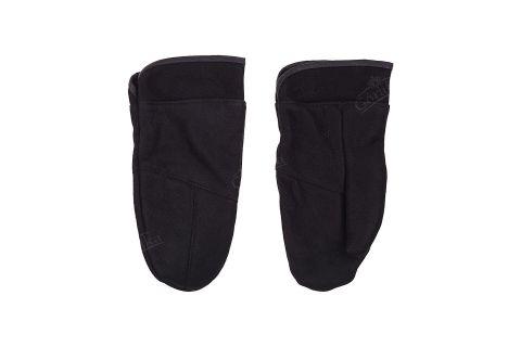 Rękawiczki skórzane męskie ocieplane z jednym palcem czarne