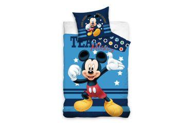 Pościel bawełniana komplet 160x200 + 70x80 Myszka Mickey