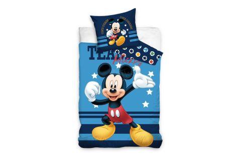 Pościel bawełniana komplet 140x200 + 70x90 Myszka Mickey