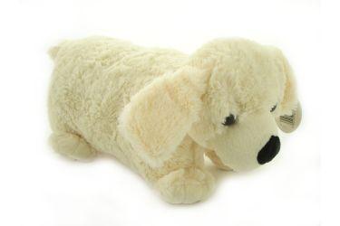 Poduszka składana pies pasterski jasny, pluszowa maskotka mała