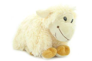 Poduszka składana owieczka pluszowa maskotka średnia