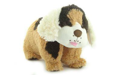 Poduszka składana pies burek kundel pupil maskotka duża