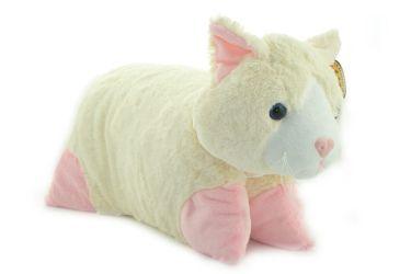Poduszka składana maskotka pluszowa kot duży