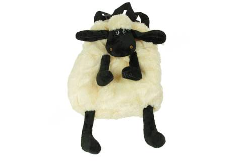 Plecak pluszowy owieczka baranek czarna owca