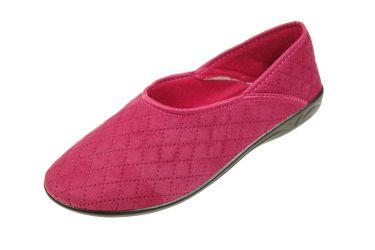 Baleriny pantofle granatowe BIO Adanex produkt Polski 19320