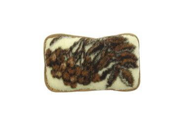 Poduszka mała cukierek 25x38 z runa owczego z certyfikatem