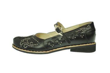 Buty skórzane kierpce góralskie stylizowane