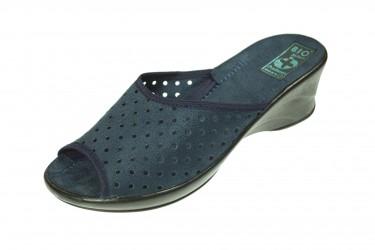 Klapki na koturnie pantofle BIO Adanex