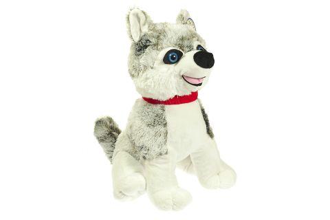 Maskotka pluszowa pies husky średni