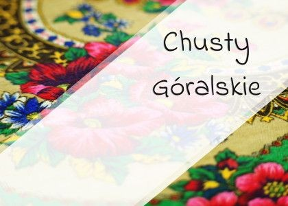 Chusty góralskie folk